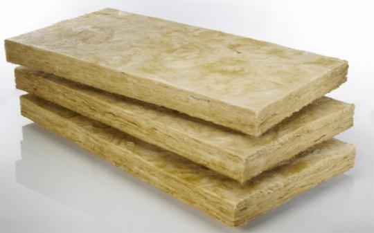 Теплоизоляция базальтовой ватой (ширина очага < 1000 мм)
