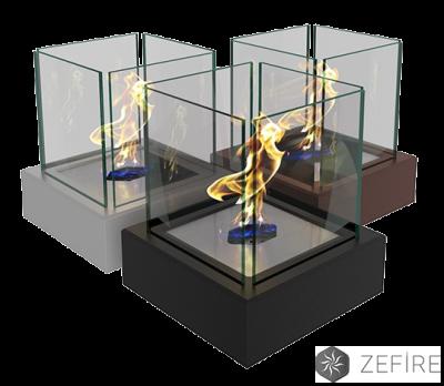 Биокамин ZeFire  Quant metall